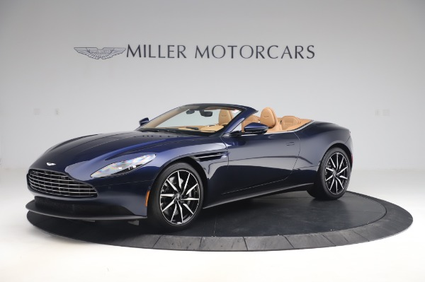 New 2020 Aston Martin DB11 Volante for sale $248,326 at Pagani of Greenwich in Greenwich CT 06830 1