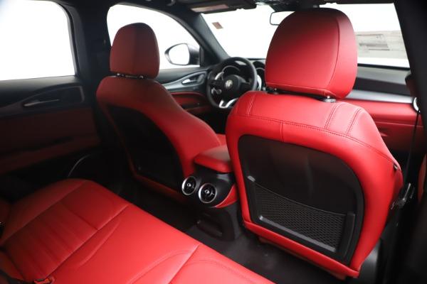 New 2020 Alfa Romeo Stelvio Ti Sport Q4 for sale Sold at Pagani of Greenwich in Greenwich CT 06830 28
