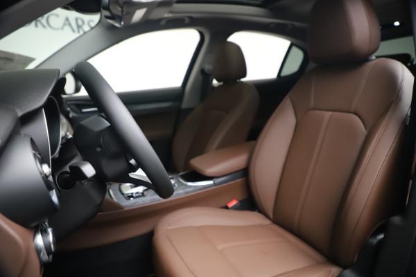 New 2020 Alfa Romeo Stelvio Q4 for sale $49,045 at Pagani of Greenwich in Greenwich CT 06830 14