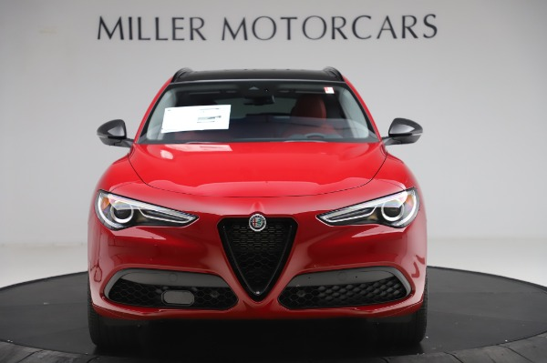 New 2020 Alfa Romeo Stelvio Sport Q4 for sale $50,195 at Pagani of Greenwich in Greenwich CT 06830 12