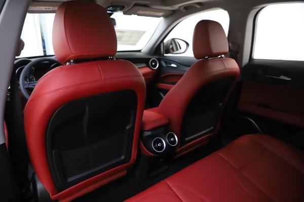 New 2020 Alfa Romeo Stelvio Sport Q4 for sale $50,195 at Pagani of Greenwich in Greenwich CT 06830 20