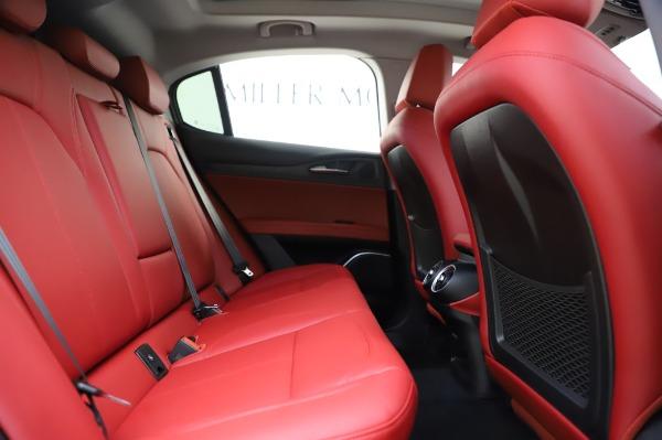New 2020 Alfa Romeo Stelvio Sport Q4 for sale $50,195 at Pagani of Greenwich in Greenwich CT 06830 27
