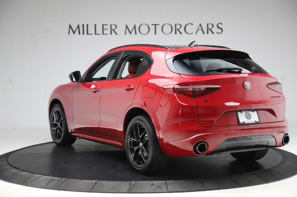 New 2020 Alfa Romeo Stelvio Sport Q4 for sale $50,195 at Pagani of Greenwich in Greenwich CT 06830 5