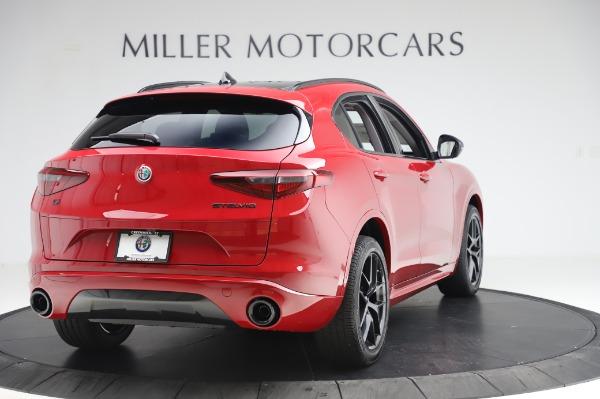 New 2020 Alfa Romeo Stelvio Sport Q4 for sale $50,195 at Pagani of Greenwich in Greenwich CT 06830 7