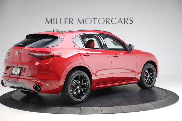 New 2020 Alfa Romeo Stelvio Sport Q4 for sale $50,195 at Pagani of Greenwich in Greenwich CT 06830 8