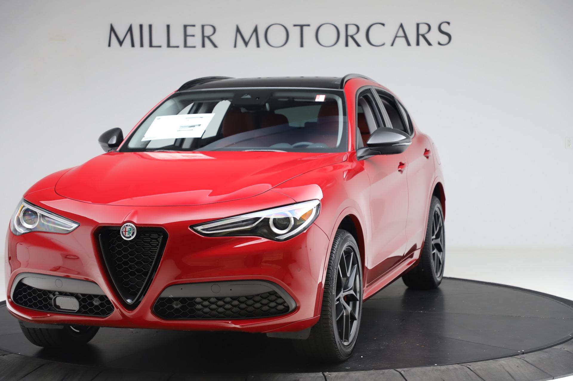 New 2020 Alfa Romeo Stelvio Sport Q4 for sale $50,195 at Pagani of Greenwich in Greenwich CT 06830 1