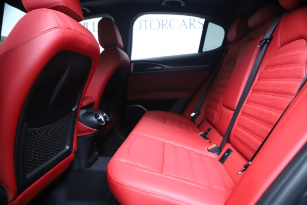 New 2020 Alfa Romeo Stelvio Ti Sport Q4 for sale $56,145 at Pagani of Greenwich in Greenwich CT 06830 19