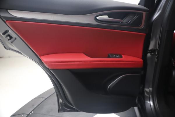 New 2020 Alfa Romeo Stelvio Ti Sport Q4 for sale $56,145 at Pagani of Greenwich in Greenwich CT 06830 21