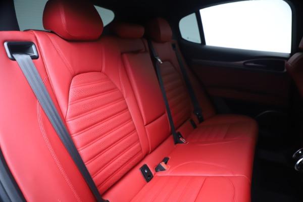 New 2020 Alfa Romeo Stelvio Ti Sport Q4 for sale $56,145 at Pagani of Greenwich in Greenwich CT 06830 26