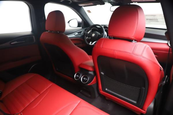 New 2020 Alfa Romeo Stelvio Ti Sport Q4 for sale $56,145 at Pagani of Greenwich in Greenwich CT 06830 28
