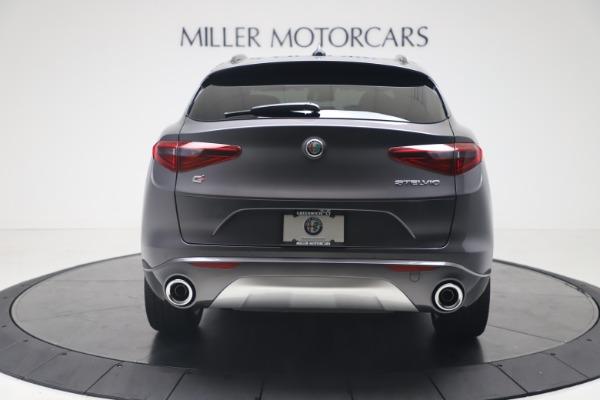 New 2020 Alfa Romeo Stelvio Ti Sport Q4 for sale $56,145 at Pagani of Greenwich in Greenwich CT 06830 6