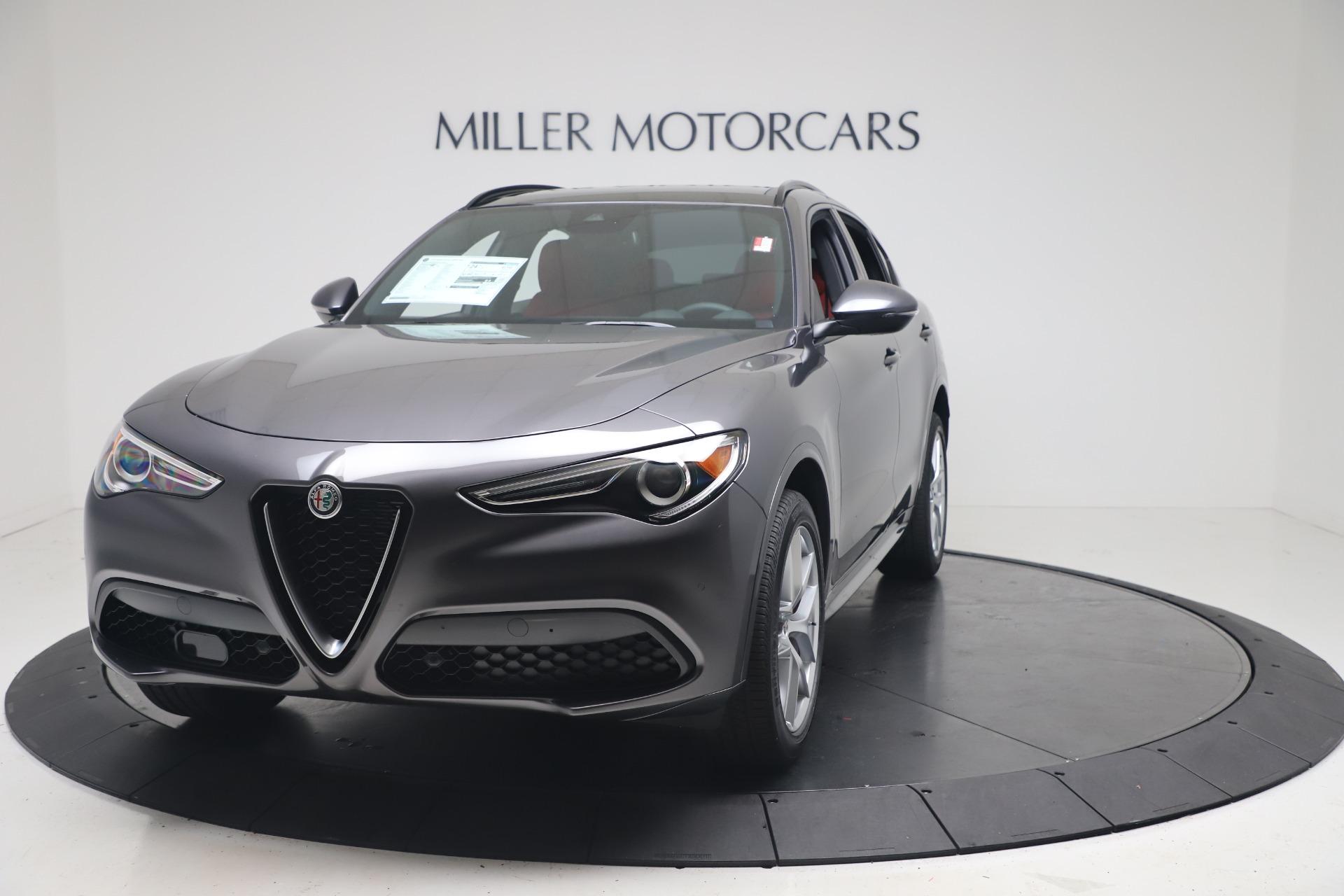 New 2020 Alfa Romeo Stelvio Ti Sport Q4 for sale $56,145 at Pagani of Greenwich in Greenwich CT 06830 1