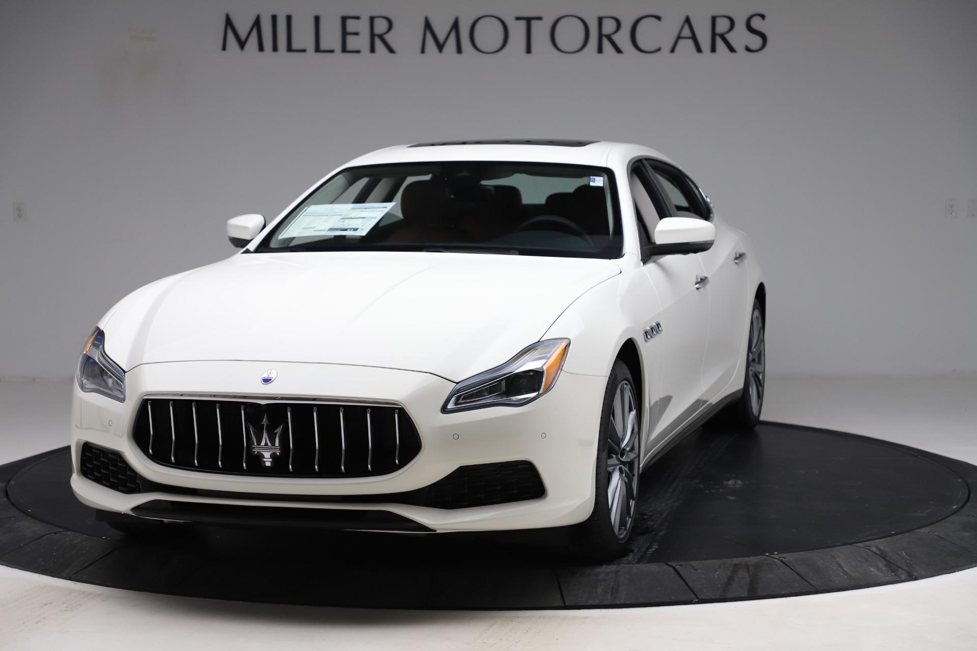 New 2020 Maserati Quattroporte S Q4 for sale $109,895 at Pagani of Greenwich in Greenwich CT 06830 1