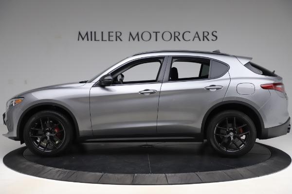 New 2020 Alfa Romeo Stelvio for sale $50,145 at Pagani of Greenwich in Greenwich CT 06830 3