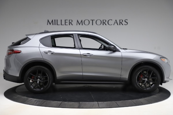 New 2020 Alfa Romeo Stelvio for sale $50,145 at Pagani of Greenwich in Greenwich CT 06830 9