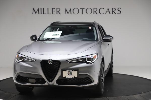 New 2020 Alfa Romeo Stelvio for sale $50,145 at Pagani of Greenwich in Greenwich CT 06830 1