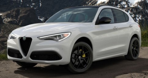 New 2020 Alfa Romeo Stelvio Ti Sport for sale $57,645 at Pagani of Greenwich in Greenwich CT 06830 1