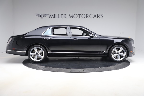 Used 2018 Bentley Mulsanne Speed for sale Sold at Pagani of Greenwich in Greenwich CT 06830 9