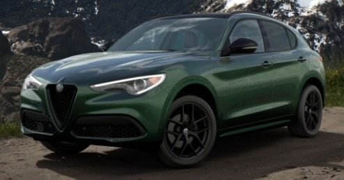 New 2020 Alfa Romeo Stelvio Ti Sport Q4 for sale $57,845 at Pagani of Greenwich in Greenwich CT 06830 1