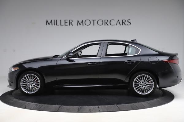 New 2020 Alfa Romeo Giulia Ti Lusso Q4 for sale $46,195 at Pagani of Greenwich in Greenwich CT 06830 3