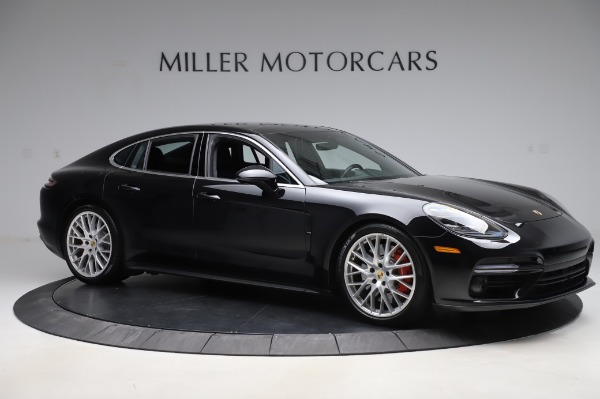 Used 2017 Porsche Panamera Turbo for sale $95,900 at Pagani of Greenwich in Greenwich CT 06830 10