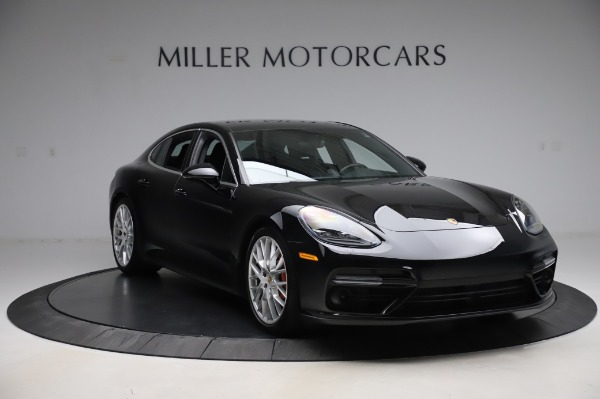 Used 2017 Porsche Panamera Turbo for sale $95,900 at Pagani of Greenwich in Greenwich CT 06830 11