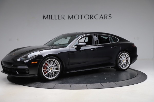 Used 2017 Porsche Panamera Turbo for sale $95,900 at Pagani of Greenwich in Greenwich CT 06830 2