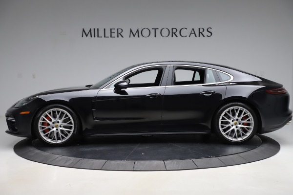 Used 2017 Porsche Panamera Turbo for sale $95,900 at Pagani of Greenwich in Greenwich CT 06830 3