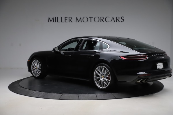Used 2017 Porsche Panamera Turbo for sale $95,900 at Pagani of Greenwich in Greenwich CT 06830 4