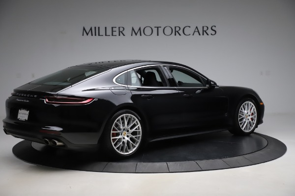 Used 2017 Porsche Panamera Turbo for sale $95,900 at Pagani of Greenwich in Greenwich CT 06830 8