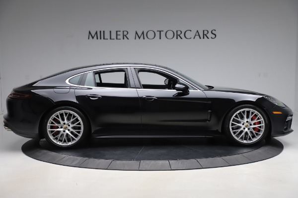 Used 2017 Porsche Panamera Turbo for sale $95,900 at Pagani of Greenwich in Greenwich CT 06830 9