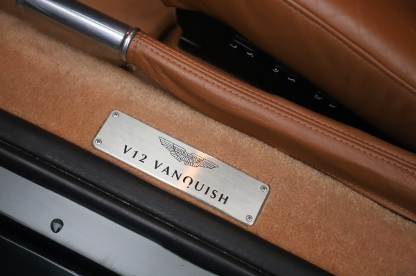Used 2003 Aston Martin V12 Vanquish Coupe for sale $79,900 at Pagani of Greenwich in Greenwich CT 06830 16