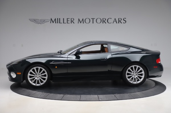 Used 2003 Aston Martin V12 Vanquish Coupe for sale $79,900 at Pagani of Greenwich in Greenwich CT 06830 2