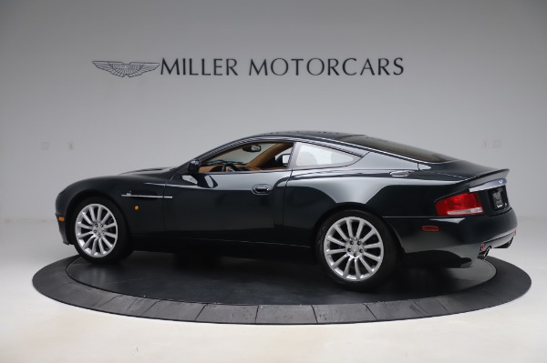 Used 2003 Aston Martin V12 Vanquish Coupe for sale $79,900 at Pagani of Greenwich in Greenwich CT 06830 3