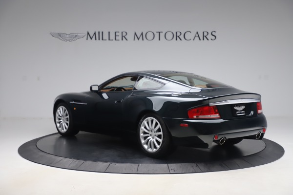 Used 2003 Aston Martin V12 Vanquish Coupe for sale $79,900 at Pagani of Greenwich in Greenwich CT 06830 4