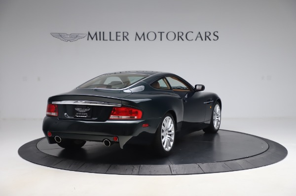 Used 2003 Aston Martin V12 Vanquish Coupe for sale $79,900 at Pagani of Greenwich in Greenwich CT 06830 7