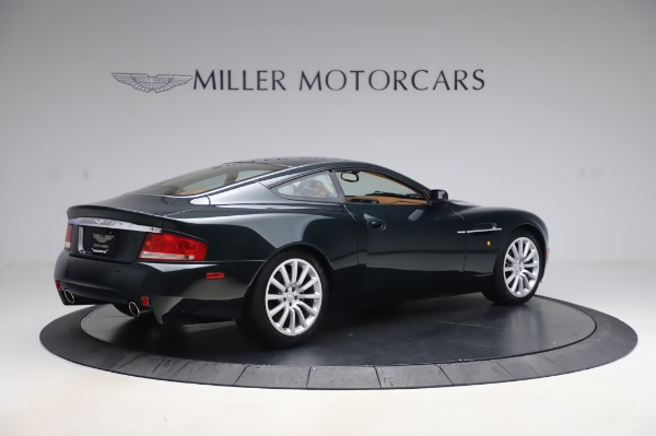 Used 2003 Aston Martin V12 Vanquish Coupe for sale $79,900 at Pagani of Greenwich in Greenwich CT 06830 8