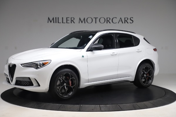 New 2020 Alfa Romeo Stelvio Quadrifoglio for sale $90,945 at Pagani of Greenwich in Greenwich CT 06830 2