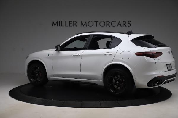 New 2020 Alfa Romeo Stelvio Quadrifoglio for sale Sold at Pagani of Greenwich in Greenwich CT 06830 4