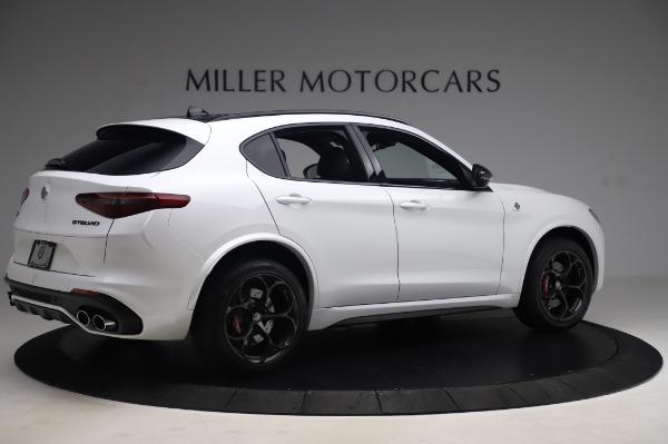 New 2020 Alfa Romeo Stelvio Quadrifoglio for sale Sold at Pagani of Greenwich in Greenwich CT 06830 8