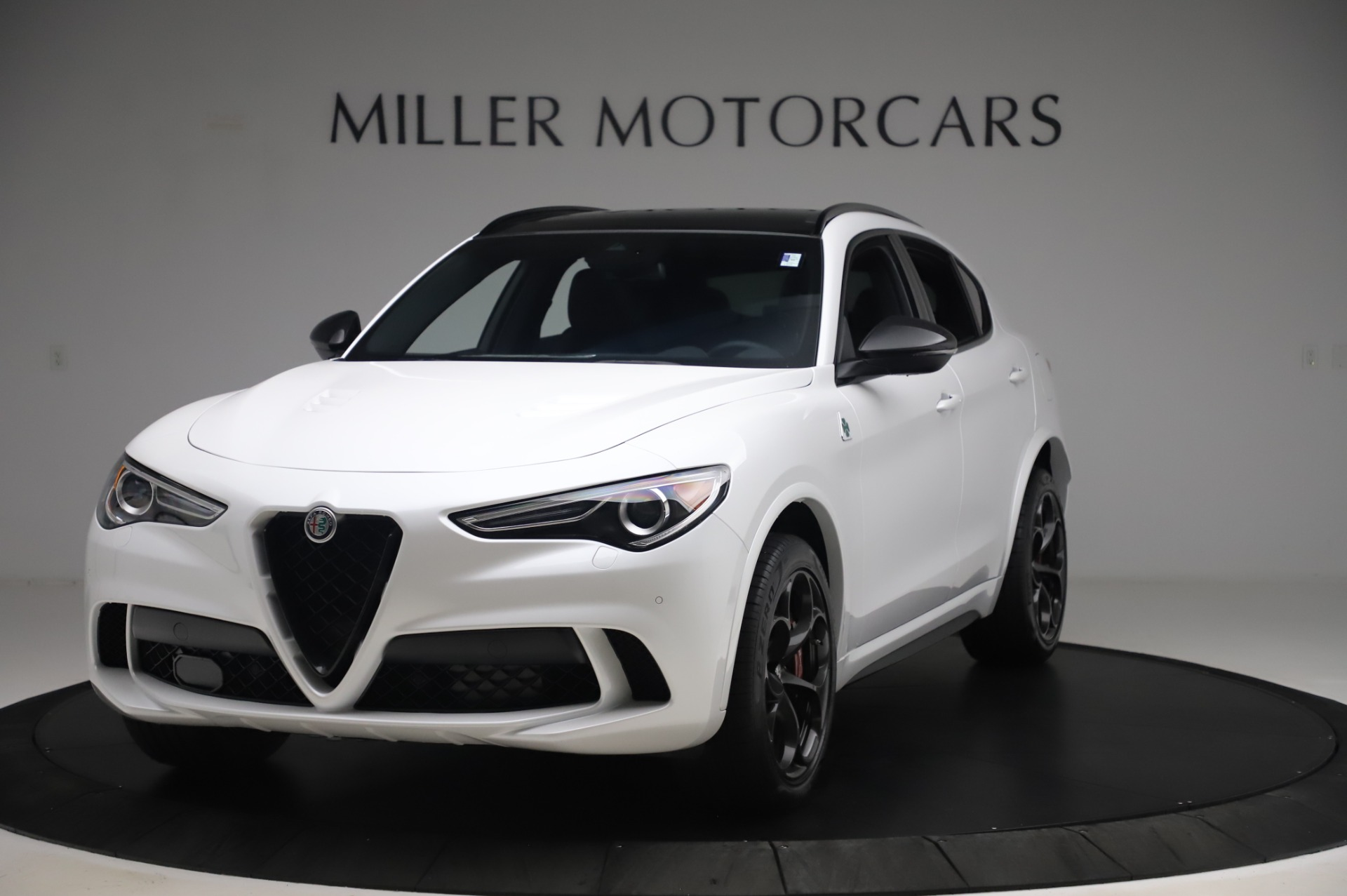 New 2020 Alfa Romeo Stelvio Quadrifoglio for sale $90,945 at Pagani of Greenwich in Greenwich CT 06830 1