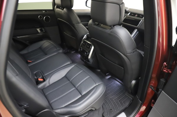 Used 2019 Land Rover Range Rover Sport Autobiography for sale Sold at Pagani of Greenwich in Greenwich CT 06830 23