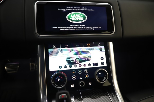 Used 2019 Land Rover Range Rover Sport Autobiography for sale Sold at Pagani of Greenwich in Greenwich CT 06830 27