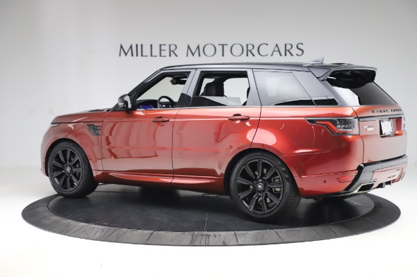 Used 2019 Land Rover Range Rover Sport Autobiography for sale Sold at Pagani of Greenwich in Greenwich CT 06830 4