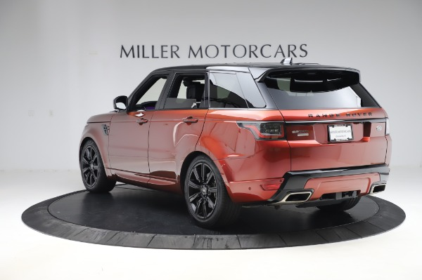 Used 2019 Land Rover Range Rover Sport Autobiography for sale Sold at Pagani of Greenwich in Greenwich CT 06830 5