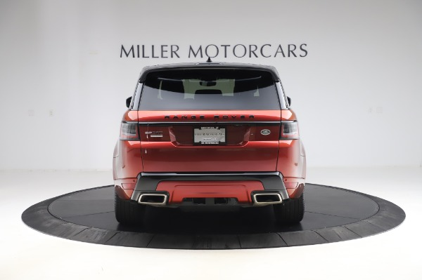 Used 2019 Land Rover Range Rover Sport Autobiography for sale Sold at Pagani of Greenwich in Greenwich CT 06830 6