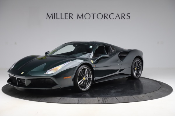 Used 2019 Ferrari 488 Spider Base for sale $329,900 at Pagani of Greenwich in Greenwich CT 06830 13