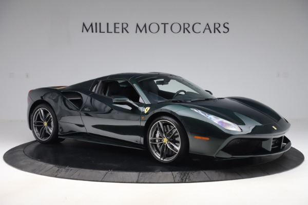 Used 2019 Ferrari 488 Spider Base for sale $329,900 at Pagani of Greenwich in Greenwich CT 06830 18