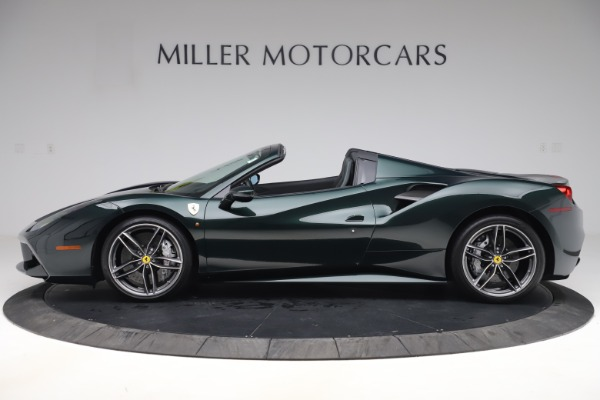 Used 2019 Ferrari 488 Spider Base for sale $329,900 at Pagani of Greenwich in Greenwich CT 06830 3