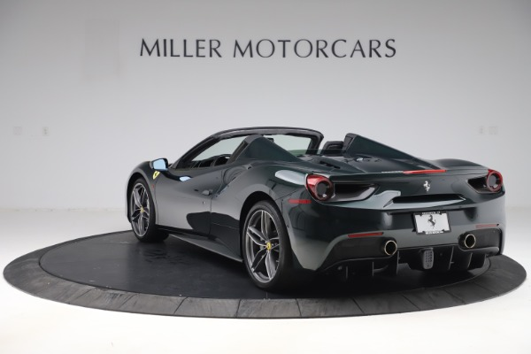 Used 2019 Ferrari 488 Spider Base for sale $329,900 at Pagani of Greenwich in Greenwich CT 06830 5